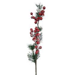 Havas ág piros bogyókkal, 66 cm
