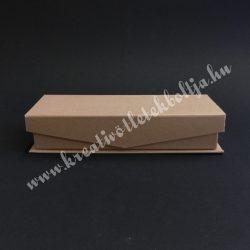 Papírdoboz, tégla, mágnessel záródó tetejű, közepes, 20x8,5 cm