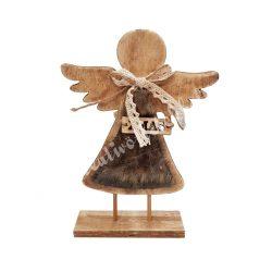 Fa angyal, szőrmés