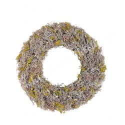 Koszorú, szárazvirág, lila