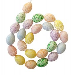 Akasztós tojásfüzér, 24 db tojás