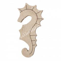 Csikóhal fából, 3,2x0,7x6,5 cm