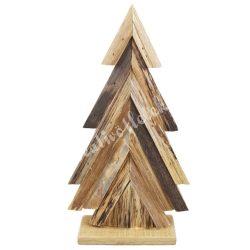 Fadekoráció, fenyőfa, 15,5x28,5 cm