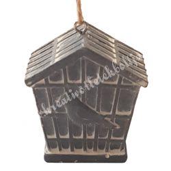 Madárkalitka, ötszög, 4,5x4,7 cm