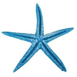 Ragasztható tengeri csillag, azúkék, 6,8x6,8 cm