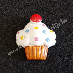 Ragasztható muffin, színes cukorkákkal