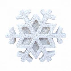 Ragasztható hópehely, fehér