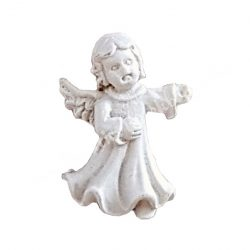Ragasztható angyalka, fehér