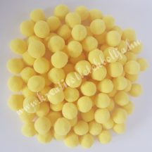 Pompon, citromsárga, 1,5 cm