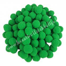 Pompon, sötétzöld, 1,5 cm