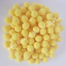 Pompon, citromsárga, 2 cm