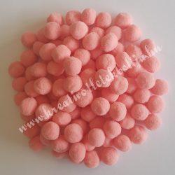 Pompon, rózsaszín, 2 cm