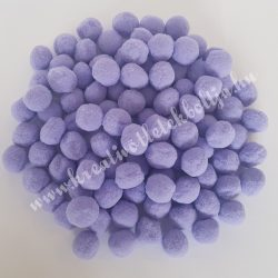 Pompon, lila, 2 cm
