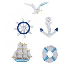 Ragasztható tengeri figurák