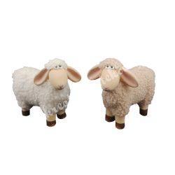 Polyresin bárány, 2 féle színben