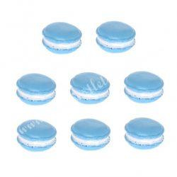 Polyresin macaron, kék