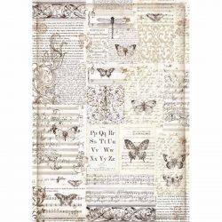 Rizspapír, Pillangók (A3)