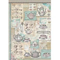 Rizspapír, Tea idő, A3 (3023)