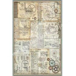 Rizspapír, Fantasztikus utazás, szerkezetek, A3 (3032)
