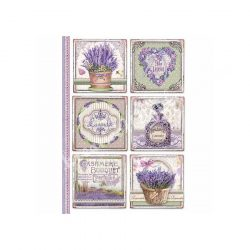 Rizspapír, Provence-i kártyák, A4 (4366)