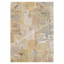 Rizspapír, jegyzetek, A4 (4376)