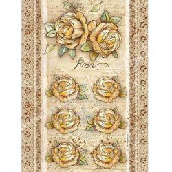 Rizspapír, Rózsás, A4 (4380)