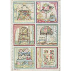 Rizspapír, Grand Hotel kártyák, A4 (4400)