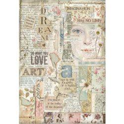 Rizspapír, Love Art (4438)