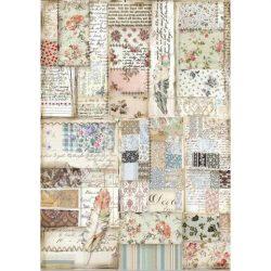 Rizspapír, Toll patchwork (4439)