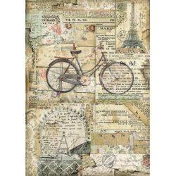 Rizspapír, Bicikli