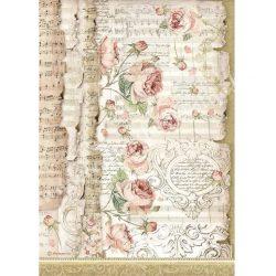 Rizspapír, Rózsák és zene (4486)