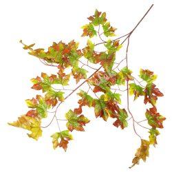 Őszi leveles ág, zöld, 70 cm