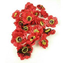 Polifoam virágfej cirmos - piros
