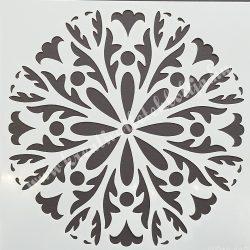 Stencil 2., 25x25 cm