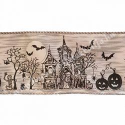 Halloween szalag, 6,4 cm