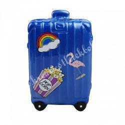 Kerámia bőrönd persely