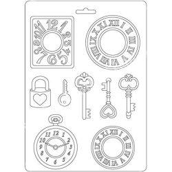 Lágy PVC öntőforma, Órák és kulcsok, A5