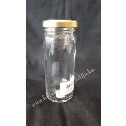 Konzerves üveg, magas