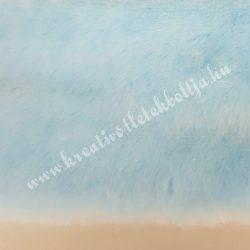 Rövid szőrű műszőr, halványkék, 10x150 cm