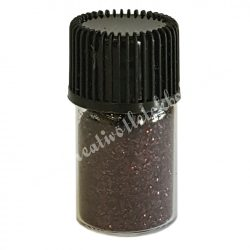 Mini csillámpor barna, kb. 10 gr/darab