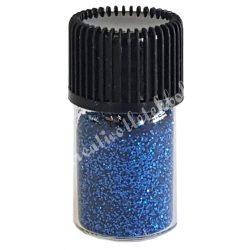 Mini csillámpor kék, kb. 10 gr/darab