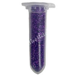 Mini csillámpor lila, kb. 10 gr/darab