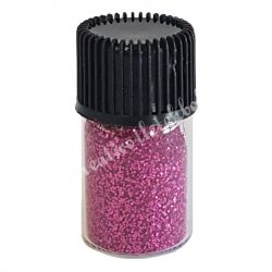 Mini csillámpor pink, kb. 10 gr/darab