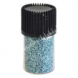 Mini csillámpor türkiz, kb. 10 gr/darab