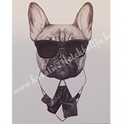 Textiltranszfer, Bulldog, 21x30 cm