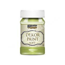 Pentart Dekor Paint Soft, lágy dekorfesék, 100 ml