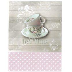 Rizspapír, Tea time, A4 (R0838)