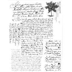 Rizspapír, Régi kézírás, A4 (R1510)
