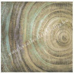 Scrapbook papír, Évgyűrű, 30,5x30,5 cm