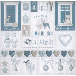 Scrapbook papír, Sweet Memories 30,5x30,5 cm